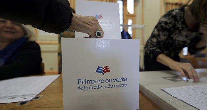 Primárias decidem candidato conservador na França