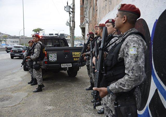 Força Nacional no Rio