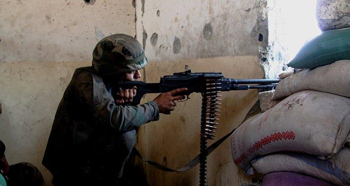 A situação no Sul de Aleppo