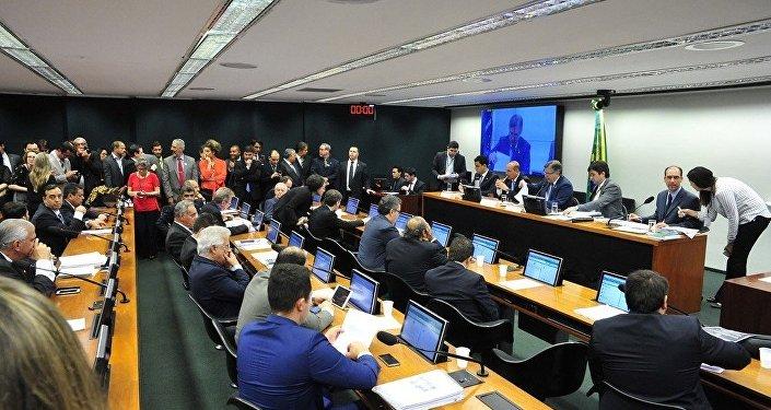 Reunião Ordinária da Comissão Especial que estabelece Medidas Contra a Corrupção
