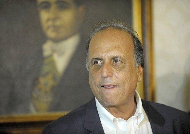 Governador do RJ, Luiz Fernando Pezão