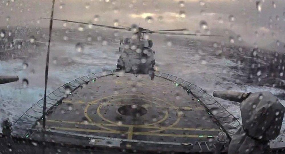 Helicóptero Sikorsky MH-60R Seahawk da Dinamarca