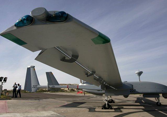 Heron TP, desenvolvido pelas Indústrias Aeroespaciais de Israel (IAI)