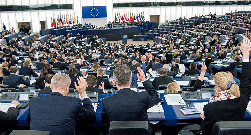 Parlamento Europeu, em Estrasburgo