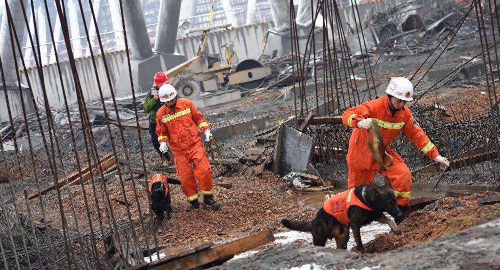 Acidente em Fengcheng, China