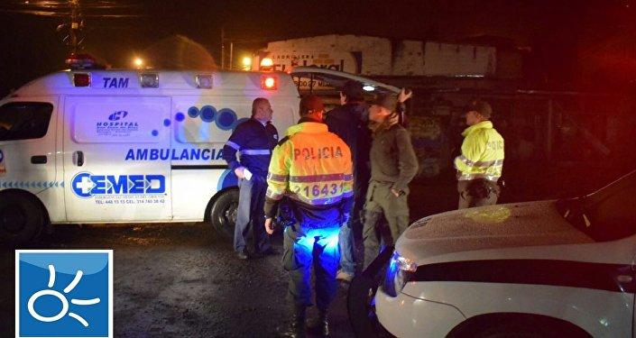 Polícia colombiana