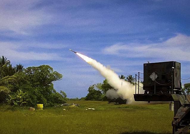 Sistema de mísseis PATRIOT Capabilidade Avançada 3 (PAC-3), de fabricação americana (arquivo)