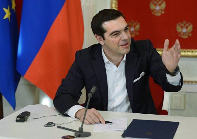 Alexis Tsipras em Moscou