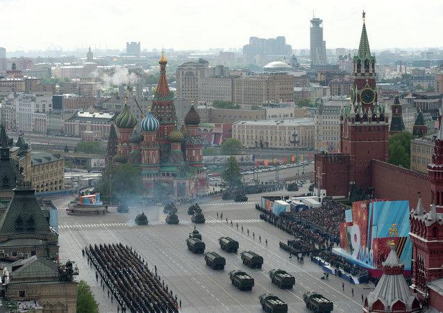 Parada militar do Dia da Vitória, em Moscou