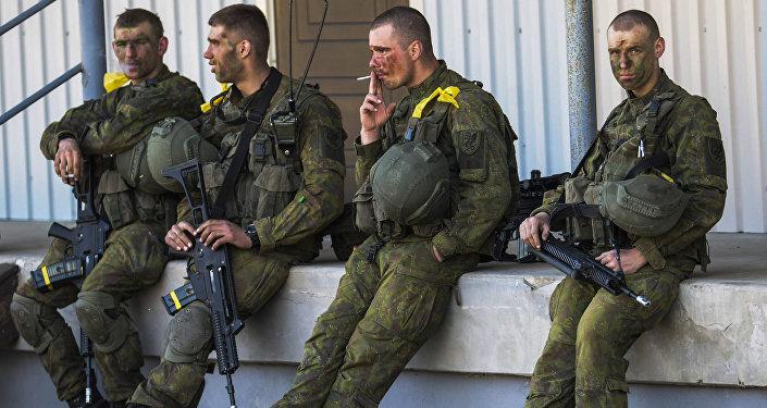 Manobras militares 'Spring Storm' da OTAN na Estônia