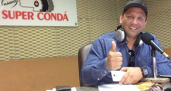 Edson Luiz Ebeliny, o Picolé como era conhecido na Super Condá, estava junto com a delegação Chapecoense no voo na LaMia.