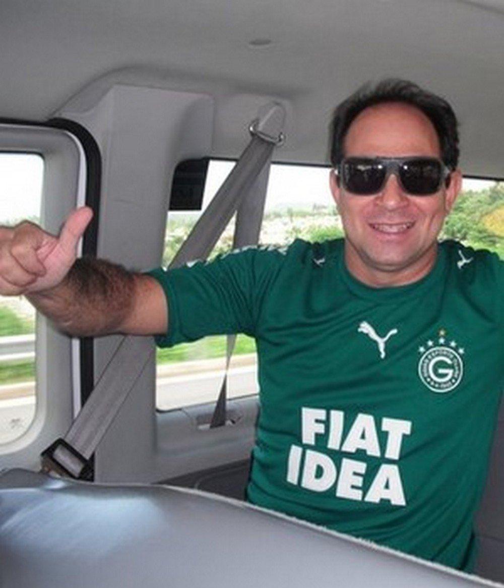 Cinegrafista Ari Júnior era torcedor do Goiás Esporte Clube