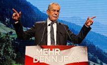 Alexander Van der Bellen, presidente eleito na Áustria