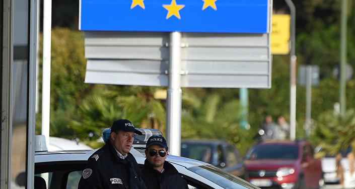Fronteira entre a Itália e França (foto de arquivo)