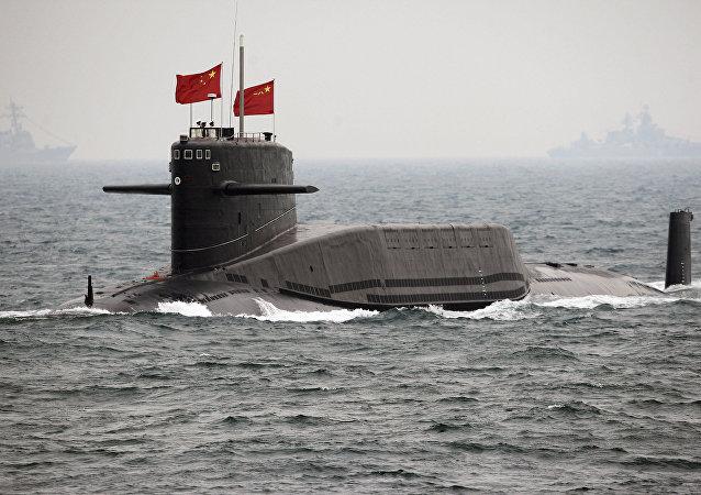 Submarino chinês (foto de arquivo)