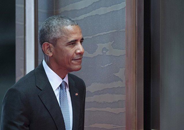 Presidente dos EUA, Barack Obama, durante uma sessão de fotos na cúpula do grupo G20