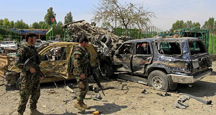 Atentado suicida no Afeganistão (foto de arquivo)