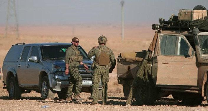 Militares americanos durante operação perto de Raqqa, em 6 de novembro de 2016