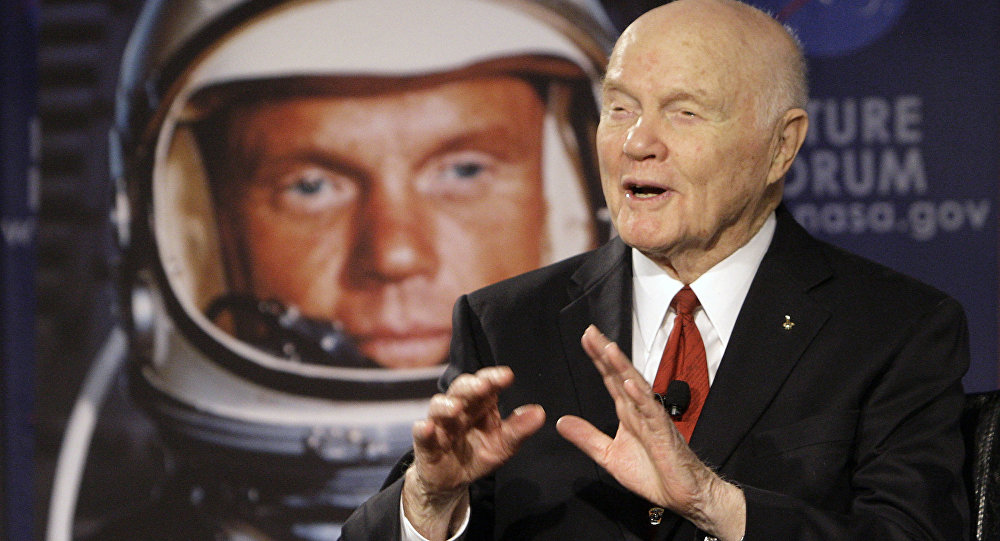 John Glenn Speaks in Ohio, 2012