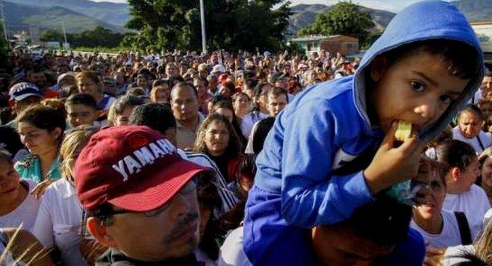 Imigrantes venezuelanos em Roraima, no Norte do Brasil (arquivo)