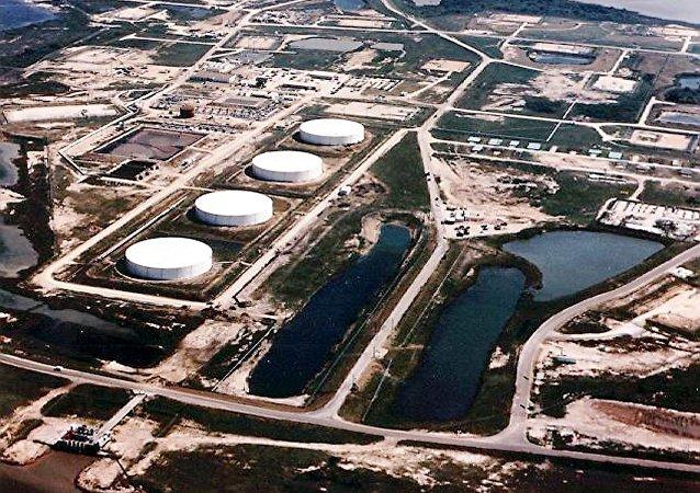 Depósitos de petróleo Bryan Mound, estado norte-americano de Texas