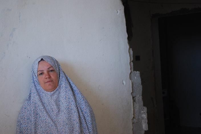Mãe de três filhos, Mariam Abdul Gani, Aleppo, dezembro 2016