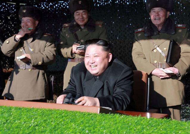 Líder norte coreano, Kim Jong-un