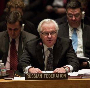 Vitaly Churkin, representante permanente da Rússia na ONU