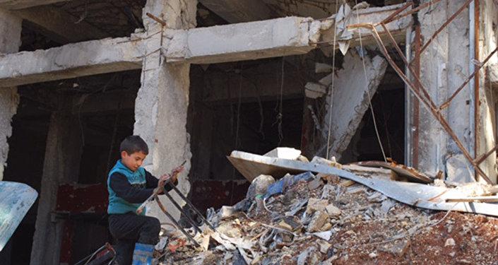 Crianças de Aleppo