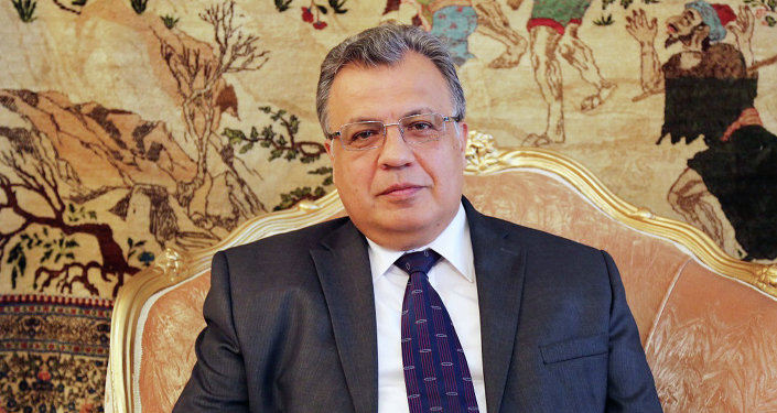 Embaixador da Rússia na Turquia, Andrei Karlov