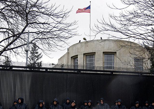 Embaixada dos Estados Unidos em Ancara, na Turquia