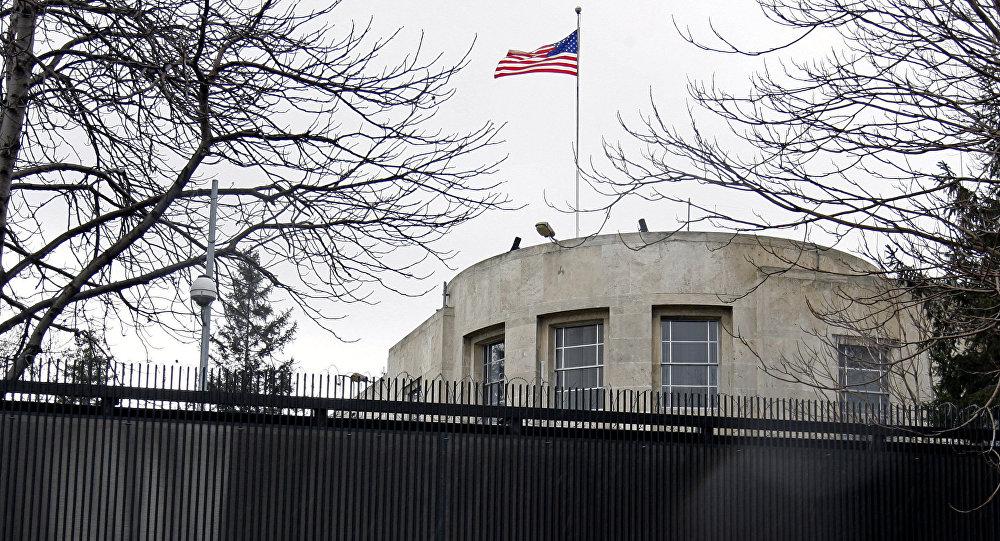 Embaixada dos EUA em Ancara, na Turquia