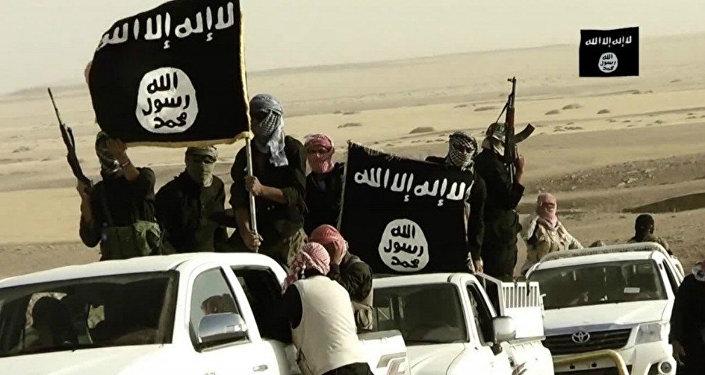 Jihadistas do grupo terrorista Daesh (foto de arquivo)