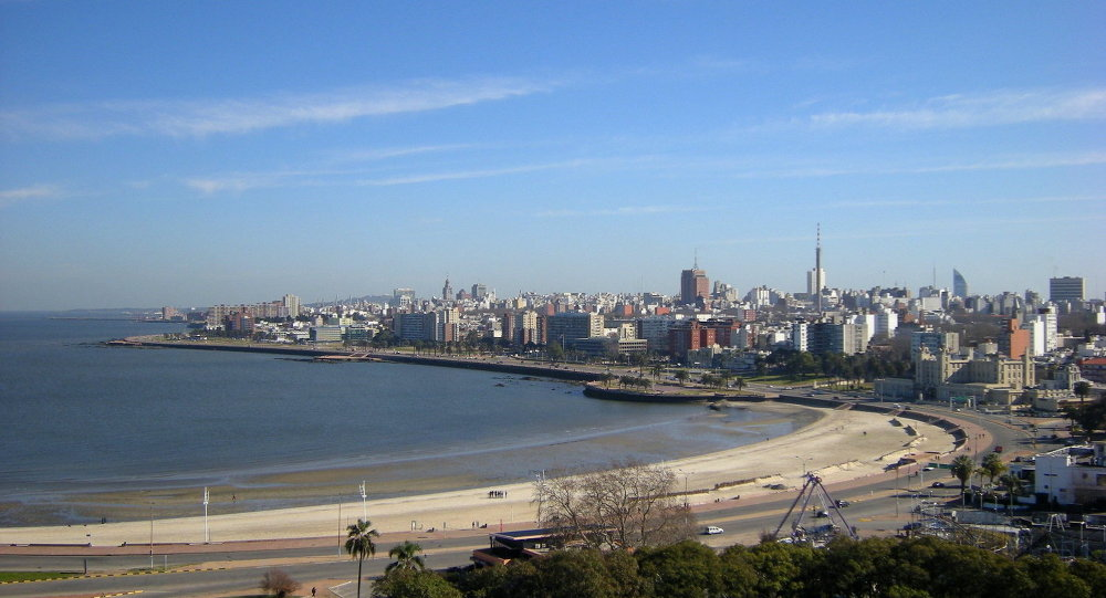 Montevideo, capital do Uruguai
