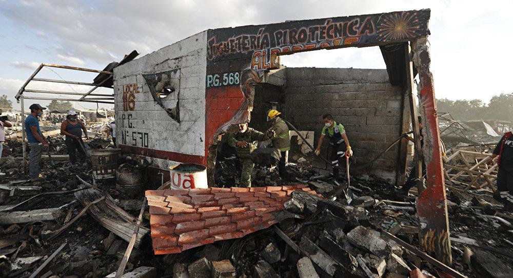 Explosões no México: pelo menos 31 vítimas mortais