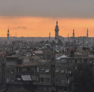 Amanhecer em Damasco