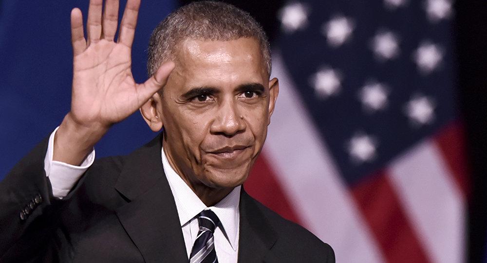 O presidente dos EUA, Barack Obama, depois de um discurso na fundação do Niarchos em Atenas, no dia 16 de novembro de 2016, no final de sua visita oficial à Grécia
