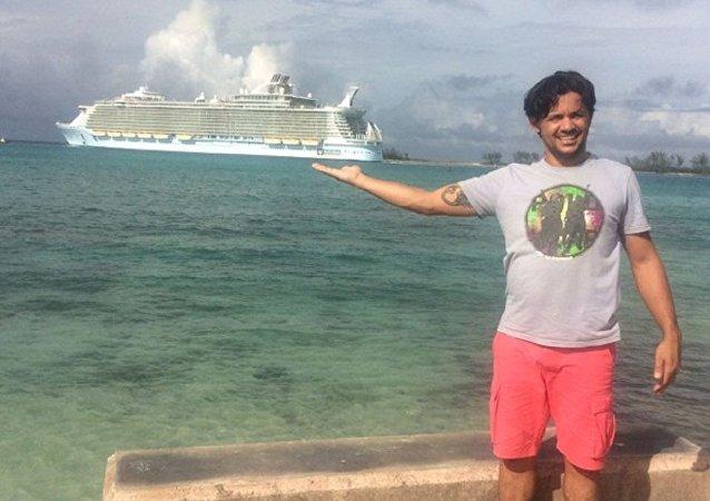 Lucirlei Carita dos Reis, um dos brasileiros do grupo desaparecido a caminho dos Estados Unidos