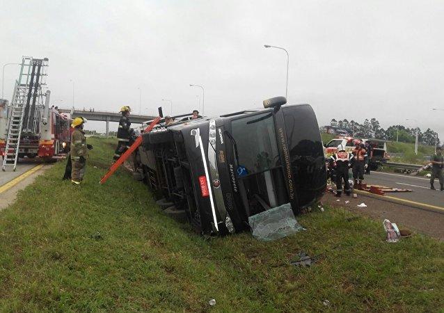 Acidente de ônibus na rodovia argentina, 27 de dezembro de 2016