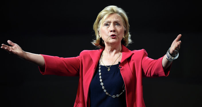 Ex-secretária de Estado dos EUA Hillary Clinton