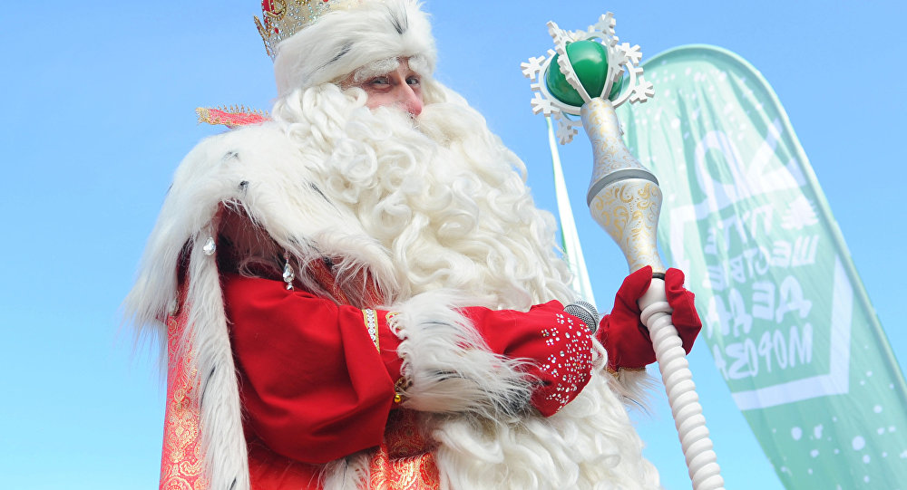 Ded Moroz, Papai Noel russo