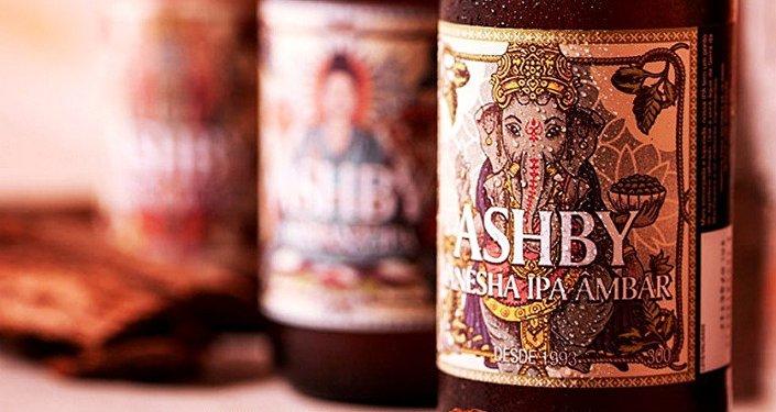 Cerveja traz divindade hindu no rotulo
