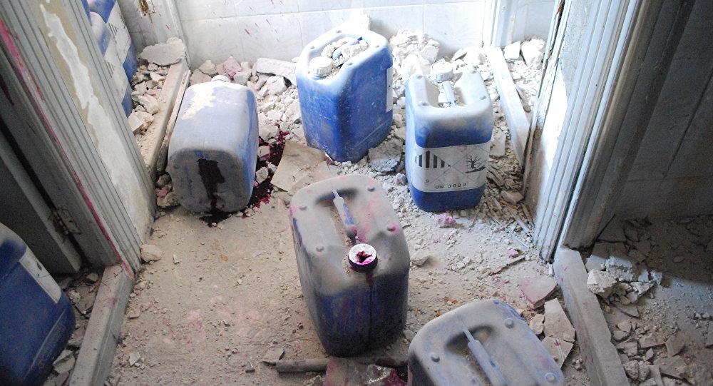 Fábrica de armas químicas em Aleppo, na Síria (arquivo)