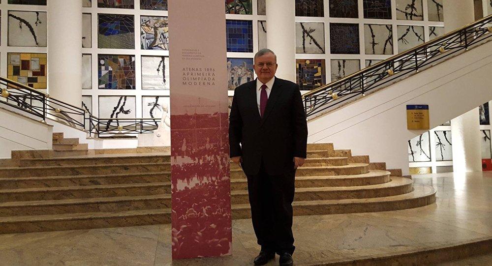 Kyriakos Amiridis, embaixador grego no Brasil desaparecido desde 26 de dezembro de 2016