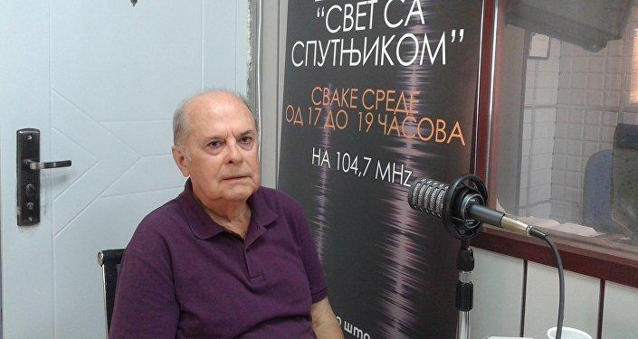 Vladislav Jovanovic, representante permanente da Sérvia na ONU