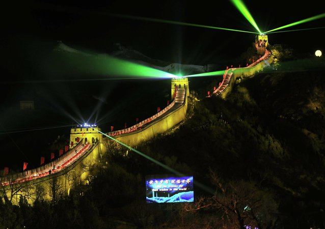 New Year's Celebrations at the Great Wall of China