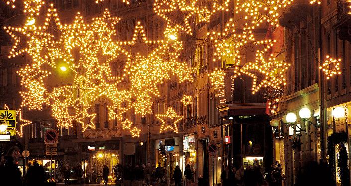 Feiras natalinas na Europa (Fotos de arquivo)