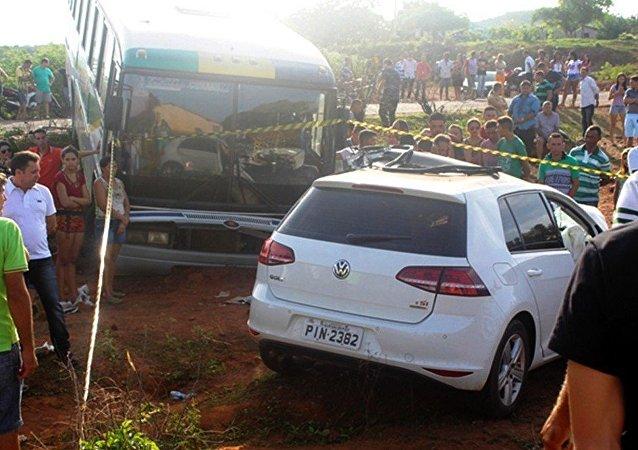 O prefeito eleito Francisco Raimundo de Moura, o Chico Borges morreu horas antes de tomar posse em acidente trágico em Santana do Piauí (PI)