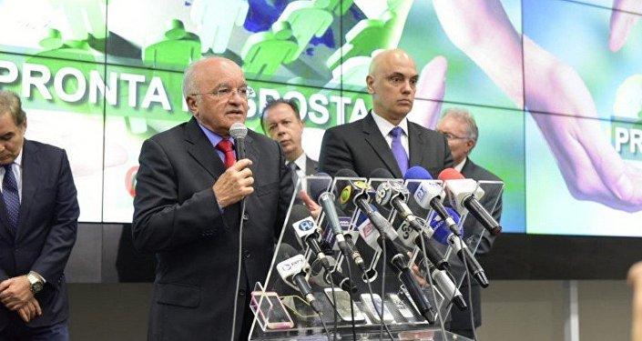 Governador do AM, José Melo e o Ministro da Justiça, Alexandre de Moraes anunciaram medidas para reforçar a segurança no sistema prisional do estado