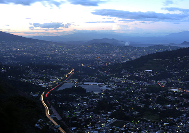 San Salvador, la capital de El Salvador